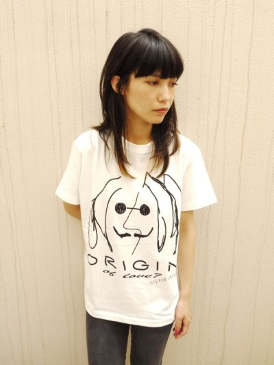 画像1: BAD LENNON  TEE  (VANILLA WHITE)