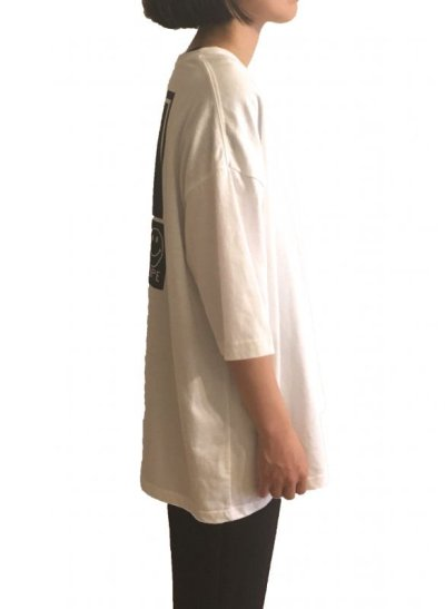 画像2: YOU KNOW - POCKET BIG TEE   (WHITE)