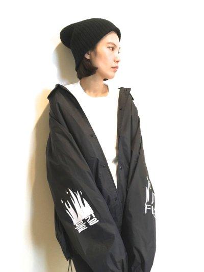 画像1: KNOCK KNOCK JOKE  COACH JACKET 改 (BLACK)