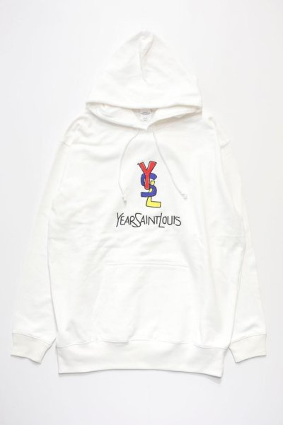 画像1: SAINT LOUIS  PARKA (WHITE) (1)