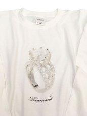 画像2: DIAMOND  L/S  TEE (2)
