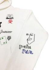 画像5: His scribble hoodie (5)