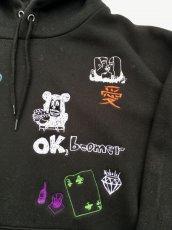 画像15: His scribble hoodie (15)