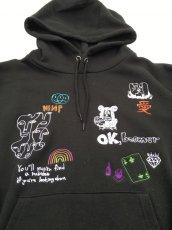 画像14: His scribble hoodie (14)