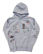 画像6: His scribble hoodie (6)