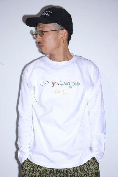 画像1: CUM yes GARCONS  L/S  TEE