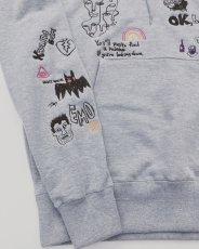 画像8: His scribble hoodie (8)