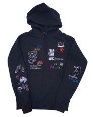 画像11: His scribble hoodie (11)