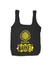 画像1: SUPER MARKET BAG (BLACK) (1)