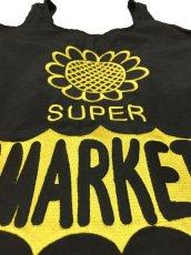 画像2: SUPER MARKET BAG (BLACK) (2)