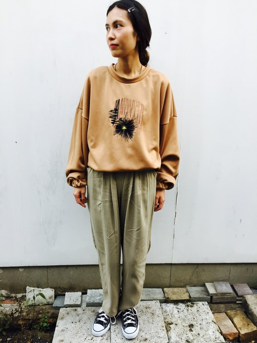 BOMBER TOP BEIGE STYLE SAMPLE
