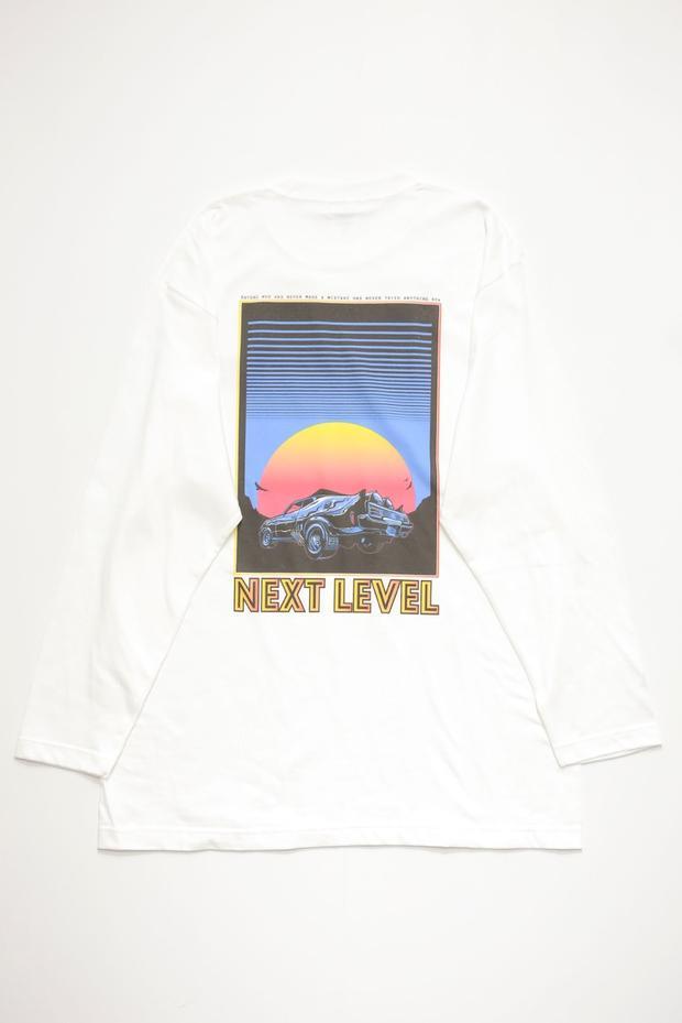 画像1: NEXT LEVEL  L/S  TEE   (WHITE) (1)