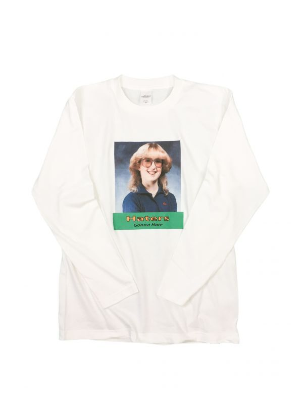 画像1: HATER`S GONNA HATE  L/S  TEE   (TYPE-2) (1)