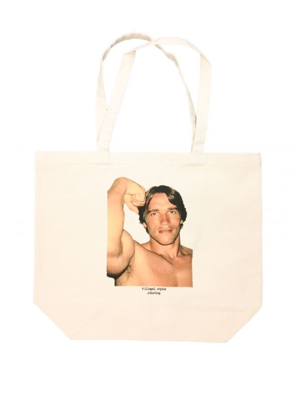 画像1: BOOTLEG TOTE BAG TYPE-2 (1)