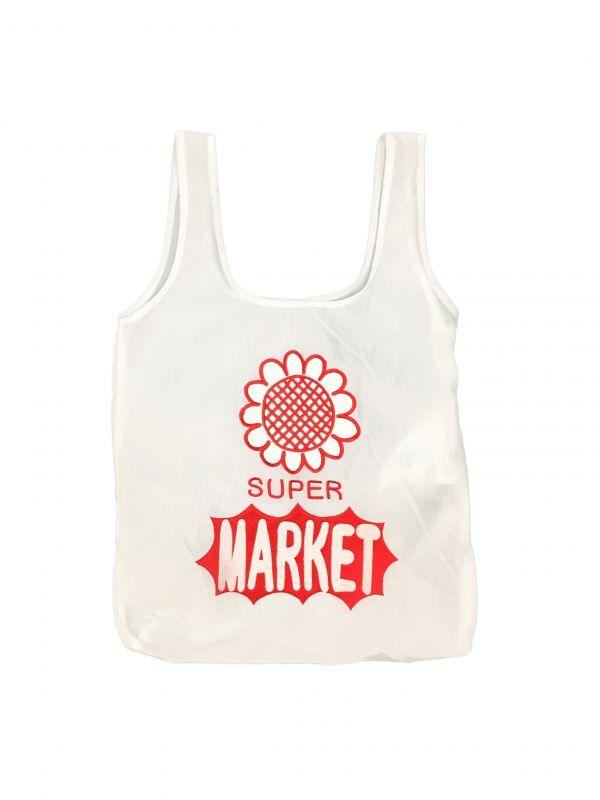 画像1: SUPER MARKET BAG (WHITE) (1)